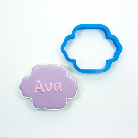 The Ava Plaque Cookie Cutter