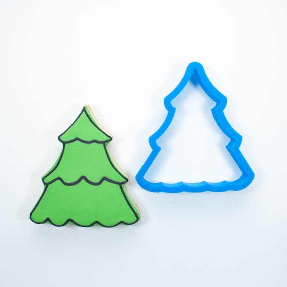 Scalloped Christmas Tree Cookie Cutter