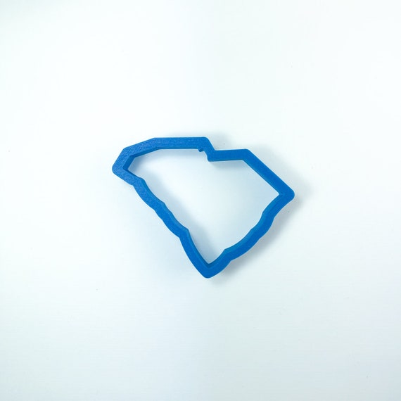 South Carolina Cookie Cutter | State Cookie Cutters | State Shaped Cookie Cutters | USA Cookie Cutters | Frosted