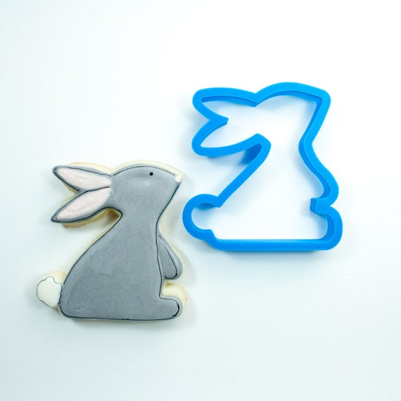 Sweet Bunny Cookie Cutter | Easter Bunny Cookie Cutter | Easter Cookie Cutter | Unique Cookie Cutter | Fondant Cutter | Mini Cutter