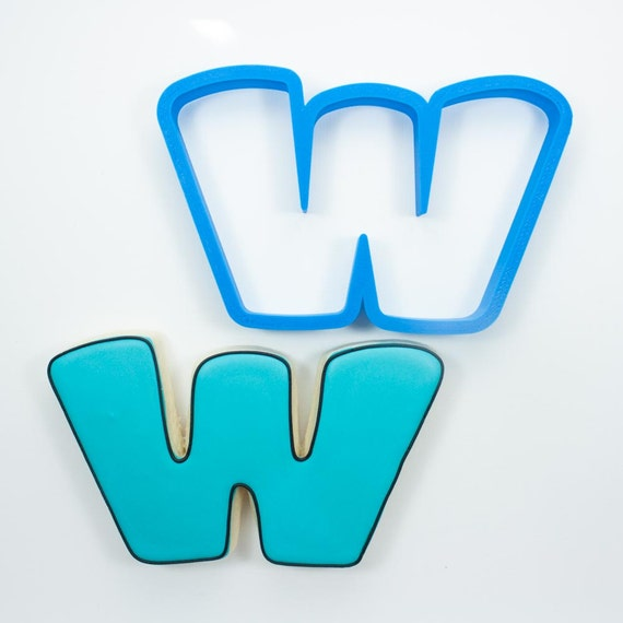 Letter W Cookie Cutter