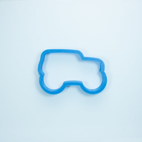 Monster Truck Cookie Cutter | Truck Cookies | Birthday Cookie Cutters | Unique Cookie Cutters | 3D Cookie Cutters