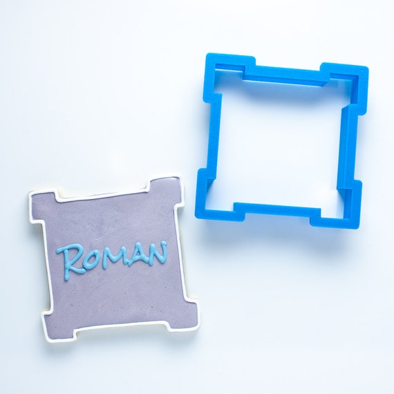The Roman Plaque Cookie Cutter