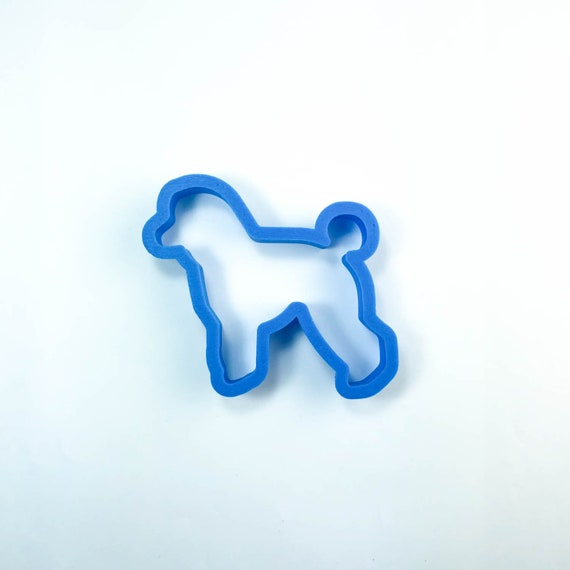 Poodle Cookie Cutter | Dog Cookie Cutter | Doggie Cookie Cutter | Custom Cookie Cutter | Dog Treat Cookie Cutter | Dog Bone