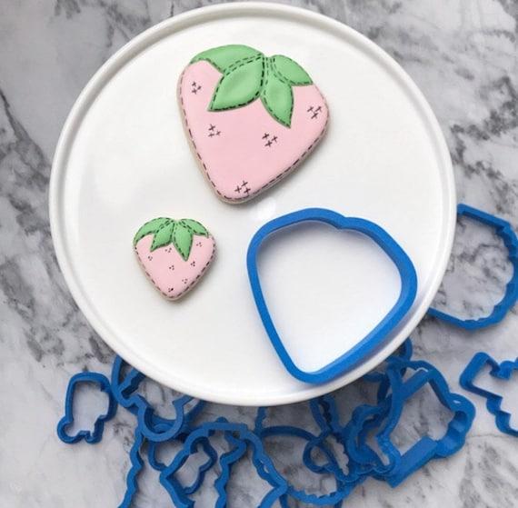 The Flour de Lis Strawberry Cookie Cutter