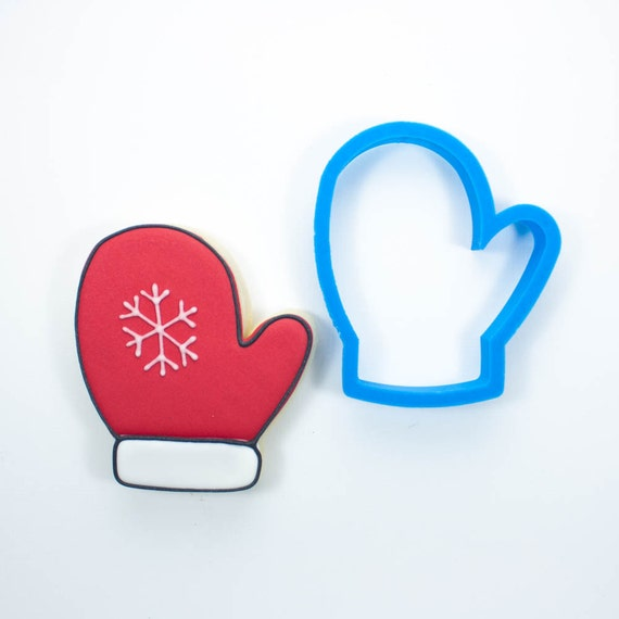 Left Mitten Cookie Cutter