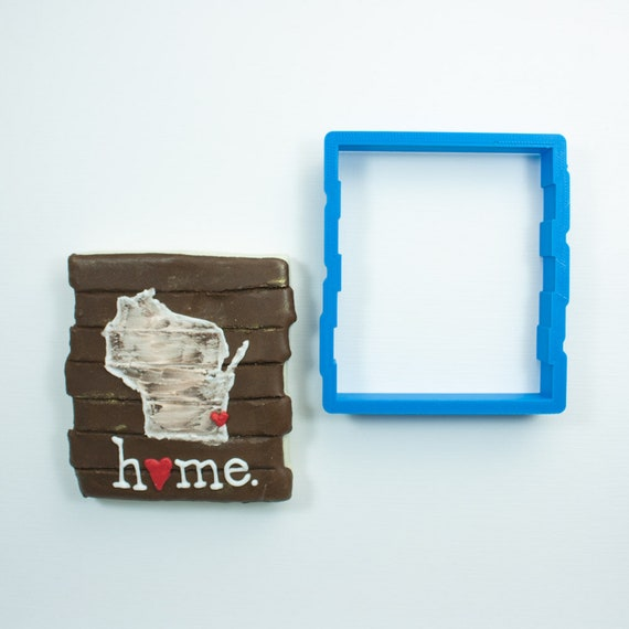 Wood Sign Cookie Cutter