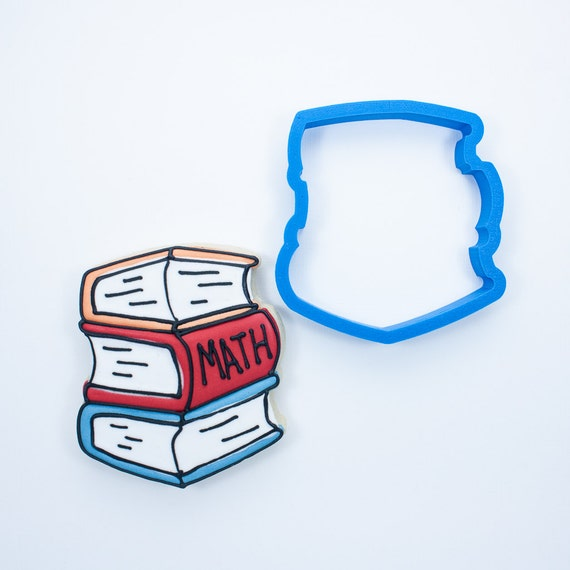 Stack of Books Cookie Cutter