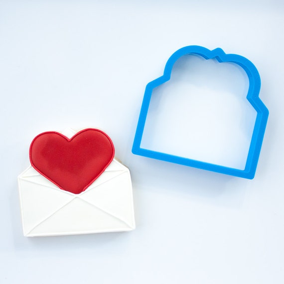 Love Letter Cookie Cutter | Love Cookie Cutter | Heart Shaped Cookie Cutter | Mini Heart Cookie Cutter | Valentine Cookie Cutter |