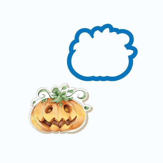 Oval Pumpkin Cookie Cutter