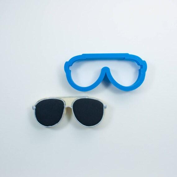 Aviator Sunglasses Cookie Cutter | Glasses Cookie Cutter | Mini Sunglasses Cookie Cutter | Beach Cookie Cutters | Unique Cookie Cutters