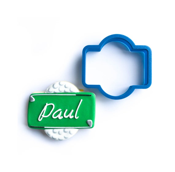The Paul Plaque Cookie Cutter
