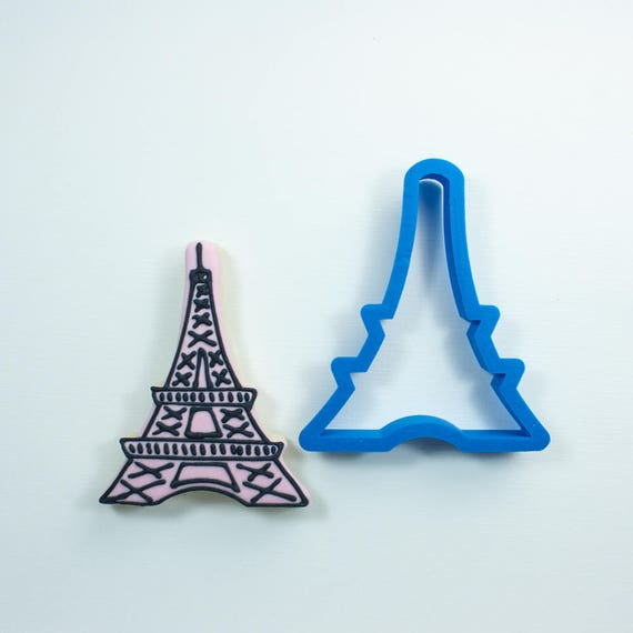 Eiffel Tower Cookie Cutter | Arc de Triomphe Cookie Cutter | Paris Cookie Cutter | French Cookie Cutter | Travel Cookie Cutters