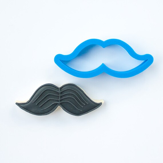 Mustache Cookie Cutter | Valentines Cookie Cutter | Mini Mustache Cookie Cutter | Mustache and Bow Tie Cookie Cutter | Unique Cookie Cutters