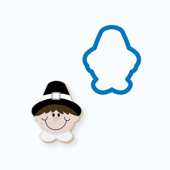 Pilgrim Boy Cookie Cutter