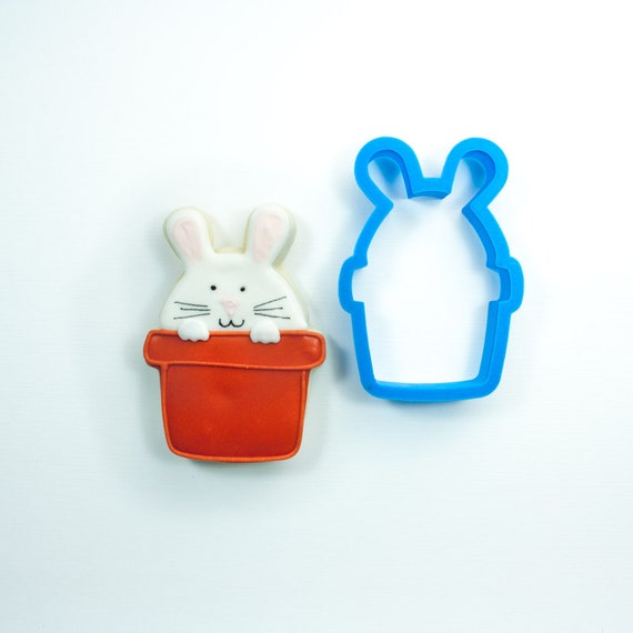 Peek-a-Boo Bunny Cookie Cutter | Easter Bunny Cookie Cutter | Easter Cookie Cutter | Unique Cookie Cutter | Fondant Cutter | Mini Cutter