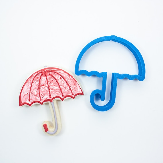 Umbrella Cookie Cutter | Baby Shower Cookie Cutters | Baby Cookie Cutters | Baby Themed Cookie Cutters | Unique Cookie Cutters