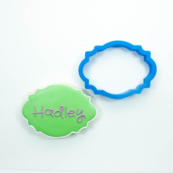 The Hadley Plaque Cookie Cutter
