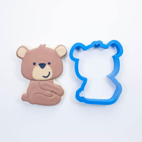 Woodland Bear Cookie Cutter |  Bear Cookie Cutters |Animal Cookie Cutter | Woodland Cookie Cutters | Custom Cookie Cutters