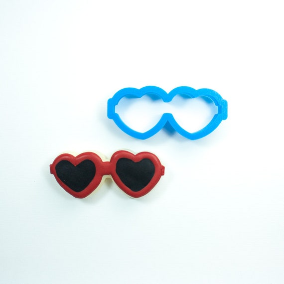 Heart Sunglasses Cookie Cutter | Heart Cookie Cutter | Summer Cookie Cutter | Mini Cookie Cutter | Unique Cookie Cutters