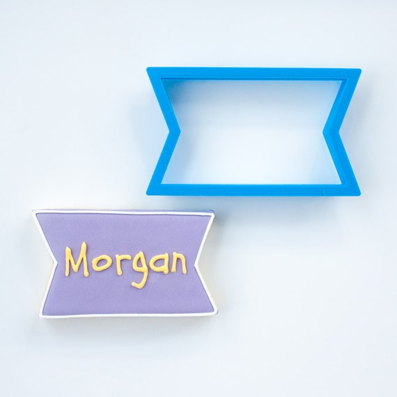 The Morgan Plaque Cookie Cutter