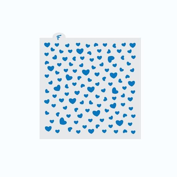 Heart Cookie Stencil | Valentines Cookie Stencil | Cookie Stencil | Valentines Stencil | Valentines Craft Stencil | Heart Craft Stencil