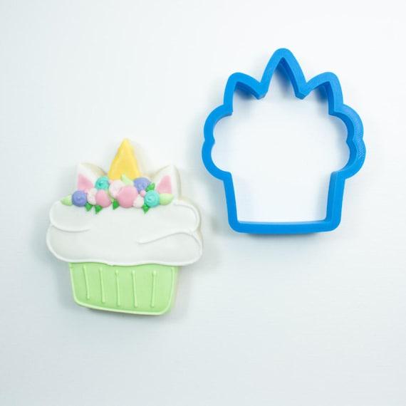 Unicorn Cupcake Cookie Cutter | Birthday Cookie Cutter | Cake Cookie Cutter | Mini Cookie Cutter | Cake Cookie Cutter | Unique Cookie Cutter