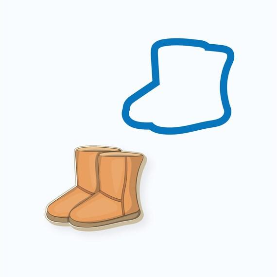 Women's Winter Boots Cookie Cutter