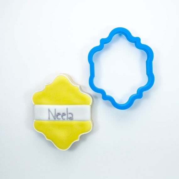 The Neela Plaque Cookie Cutter