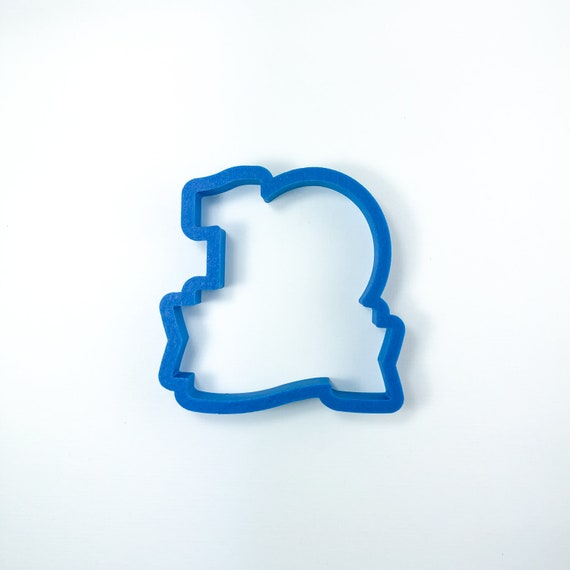 Number Ten with Banner Cookie Cutter
