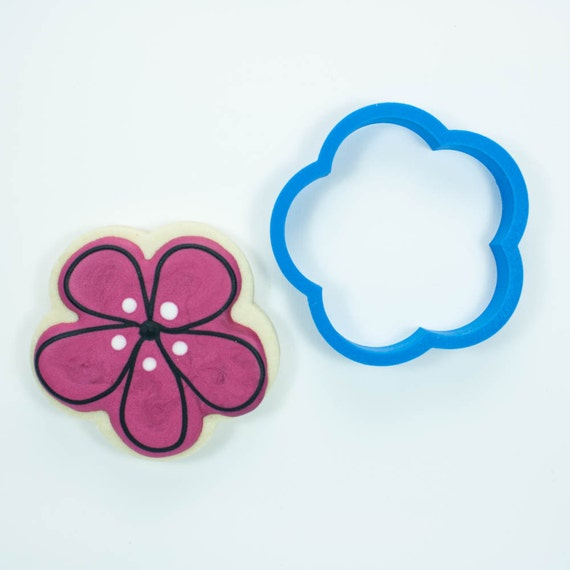 Simple Flower Cookie Cutter