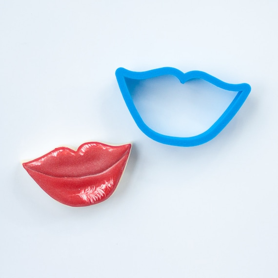 Lips Cookie Cutter | Love Cookie Cutter | Valentine Cookie Cutter | Valentines Cookie Cutter | Unique Cookie Cutters | 3D Cookie Cutters