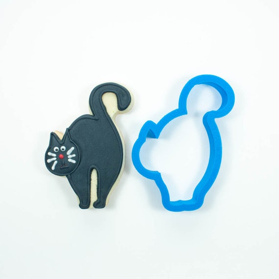 Black Cat Cookie Cutter