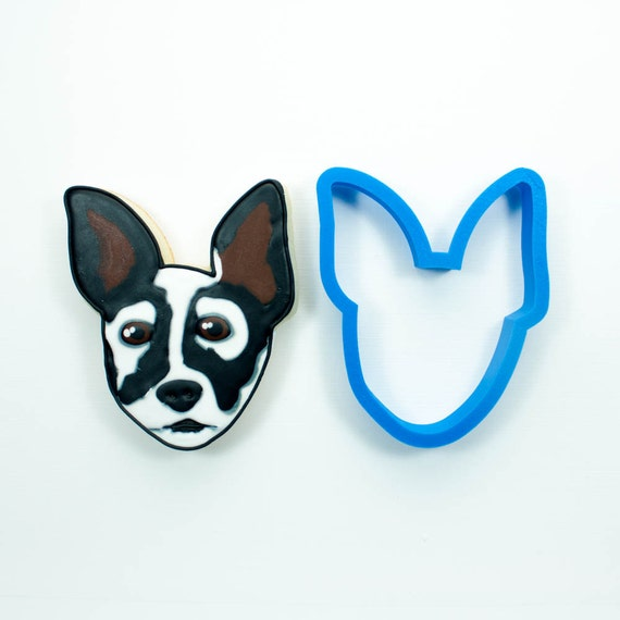 Rat Terrier Cookie Cutter | Dog Cookie Cutter | Doggie Cookie Cutter | Custom Cookie Cutter | Dog Treat Cookie Cutter | Dog Bone Cookies