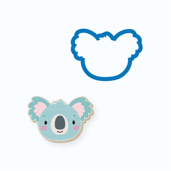 Koala Cookie Cutter | Animal Cookie Cutter | Baby Shower Cookie Cutter | Birthday Cookie Cutter | Kids Cookie Cutters | FrostedCo