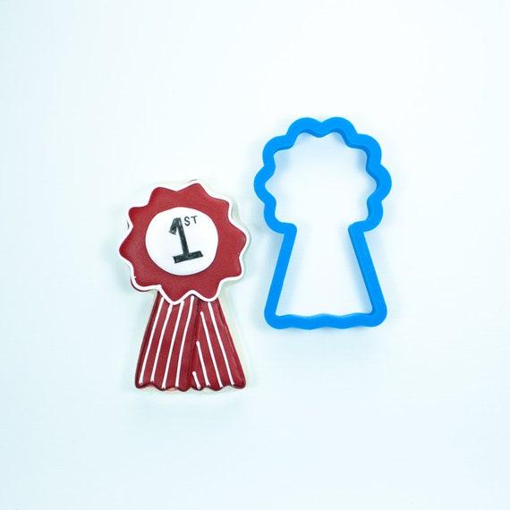 Winner's Ribbon Cookie Cutter | Fondant Cutters | Ribbon Cookie Cutters | Mini Cookie Cutters | 3D Printed Cookie Cutter | Unique Cutters