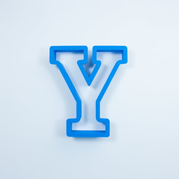 Block Letter Y Cookie Cutter