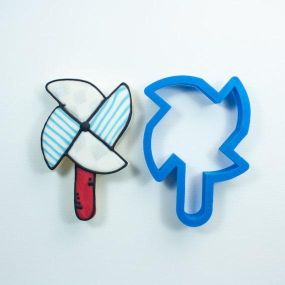 Pinwheel  on a Stick Cookie Cutter
