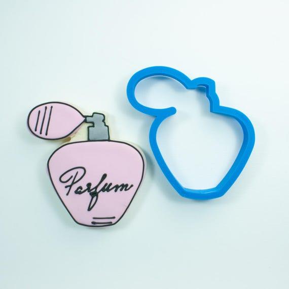 Perfume Bottle Cookie Cutter | Spa Cookie Cutters | Wedding Cookie Cutters | Mini Cookie Cutters | Frosted Cookies