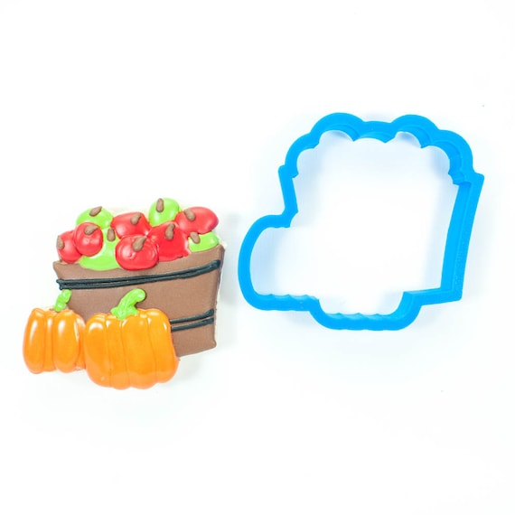 Bushel of Apples and Pumpkins Cookie Cutter
