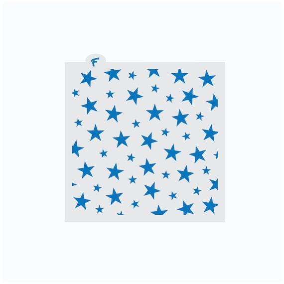 Star Stencil | Stars Cookie Stencil | 4th of July Cookie Stencil | Patriotic Cookie Stencil | America Cookie Stencil | FrostedCo