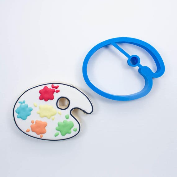 Paint Palette Cookie Cutter