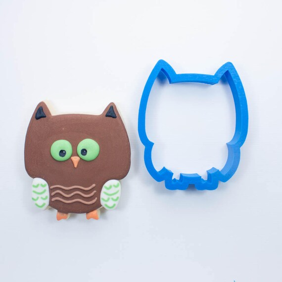 Woodland Owl Cookie Cutter | Mini Owl Cookie Cutter | Woodland Cookie Cutters | Custom Cookie Cutters | Unique Cookie Cutters