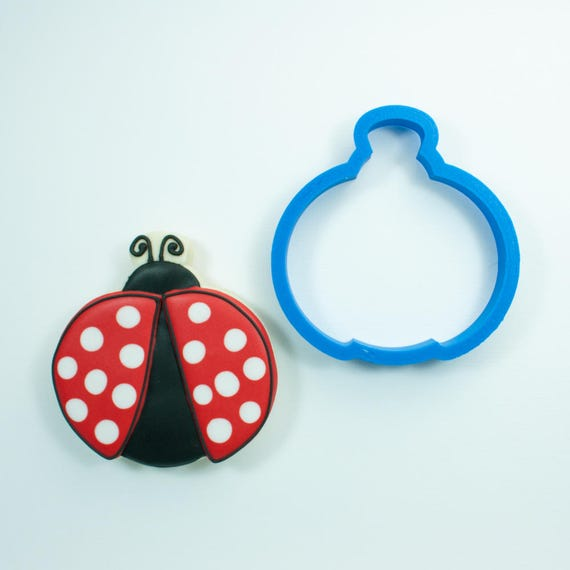 Ladybug Cookie Cutter | Lady Bug Cookie Cutter | Mini Cookie Cutters | Animal Cookie Cutters | Custom Cookie Cutters | Insect Cookie Cutters