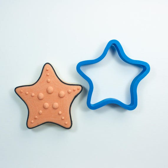 Chubby Starfish Cookie Cutter | Ocean Cookie Cutter | Sea Cookie Cutters | Beach Cookie Cutters | Animal Cookie Cutters