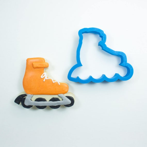 Rollerblade Cookie Cutter | Roller Blade Cookie Cutter | Frosted Cookie Cutters | Unique Cookie Cutters | Mini Cookie Cutter