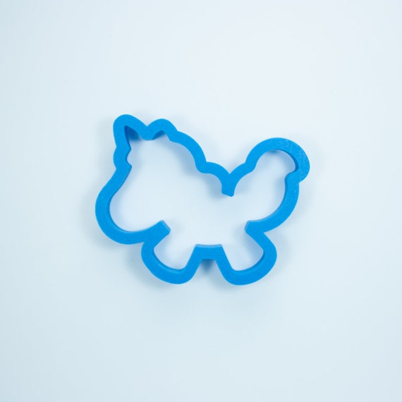Jumping Unicorn Cookie Cutter | Mini Unicorn Cookie Cutter | Birthday Cookie Cutters | Cute Cookie Cutters | Unique Cookie Cutters