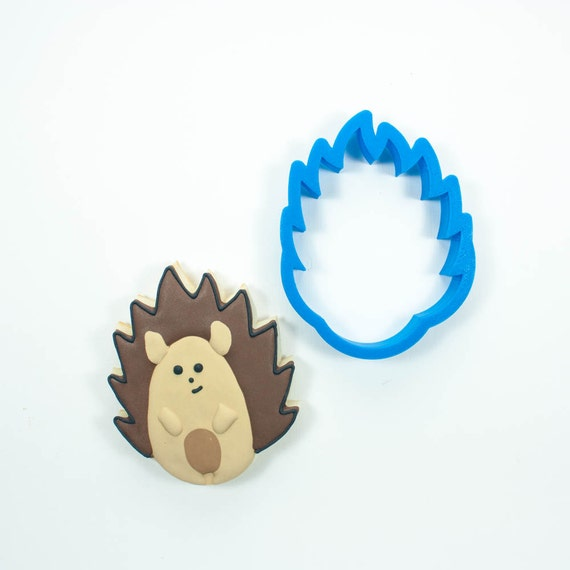 Hedgehog Cookie Cutter | Animal Cookie Cutters | Mini Cookie Cutters | Small Cookie Cutters | Unique Cookie Cutters | 3D Cookie Cutters