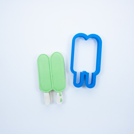 Double Popsicle Cookie Cutter