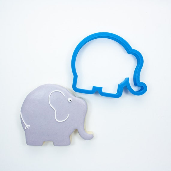 Chubby Elephant Cookie Cutter | Baby Shower Cookie Cutters | Animal Cookie Cutters | Unique Cookie Cutters | Baby Elephant Cookie Cutter